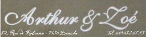 logo arthur&zoe ok